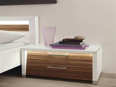 Small modern console table, modern bedside table bedroom