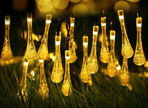 outdoor solar powered string lights only 7 99