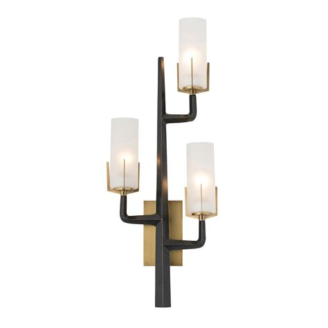 arteriors home griffin sconce clayton gray home