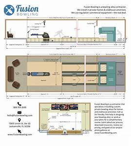 Bowling Alley Lane Dimensions Diagrams  U0026 Plans