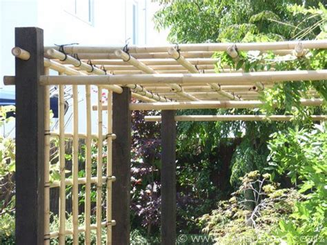 bamboo pergola pergola carport outdoor wood furniture