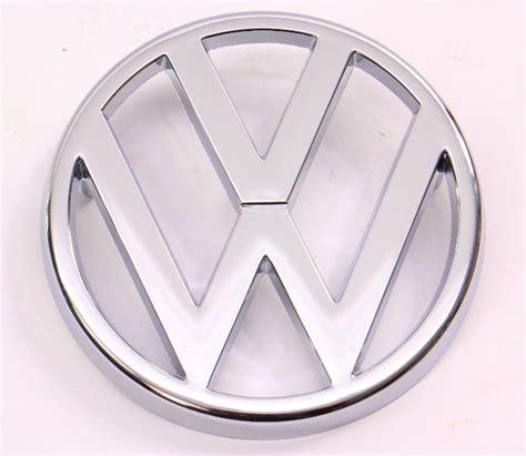 mm grill grille emblem badge logo   vw vanagon  genuine