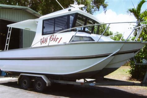Boats Cairns by Cairns Custom Craft 1994 Trihull Power Boats Boats