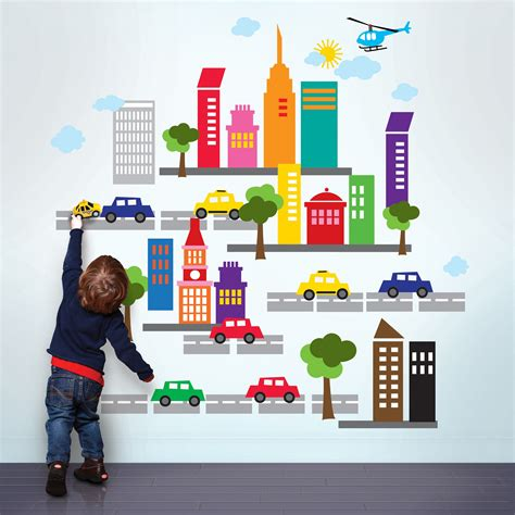 Decorating Kid's Room With Interesting Kids Wall Decals