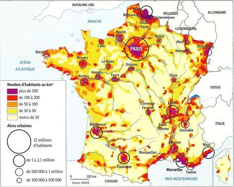 Carte Densité Population 2017 by Carte Densit 233 Population Carte 2018