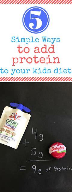 When Tara Met Blog 5 Simple Ways To Add Protein To Your Child's Diet