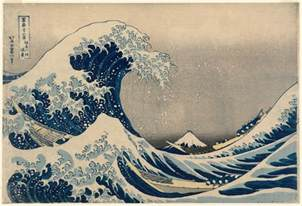 Image result for Japanese Woodblock Wave