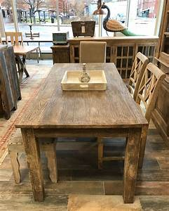gorgeous, sandblasted, handcrafted, table, with, just, the, right, amount, of, distressing, , , reclaimed