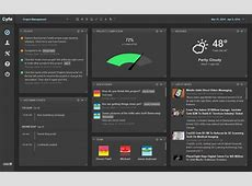 Project Management Dashboard Cyfe