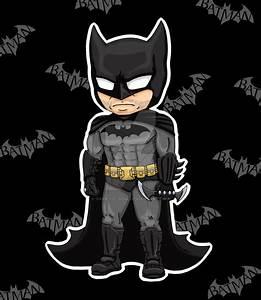 Arkham Batman Chibi by dark-lil-soul on DeviantArt