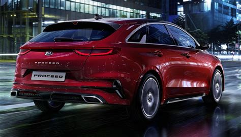 2019 Kia Proceed Shooting Brake Looks Rather Excellent