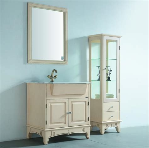 Color For Bathroom Cabinets by White Color Bathroom Cabinet Kl2016 China Bathroom