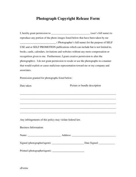 senior portrait photography contract template