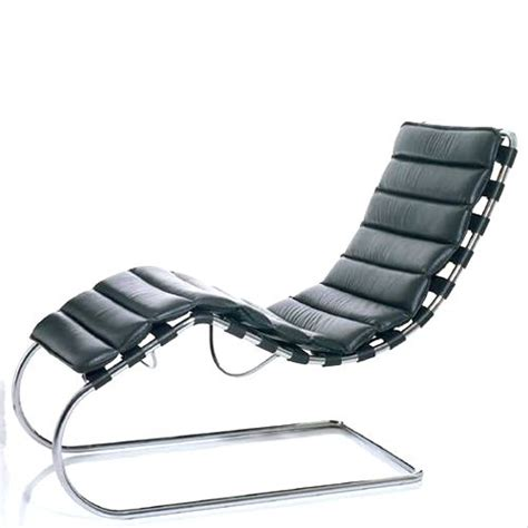 chaise lounge mr design mies der rohe archistardesign
