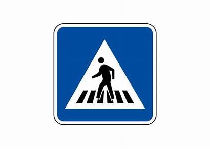 Crosswalk Sign Road Superawesomevectors Zip Archive