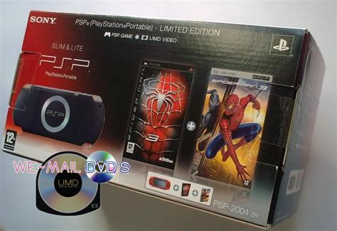 Psp 2004 Zr Limited Edition Spiderman Console [region 2