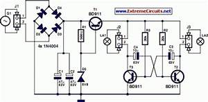Led Bike Light Circuit Project Diagram