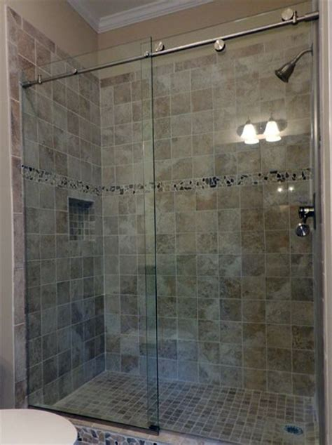 25 best ideas about sliding shower doors on