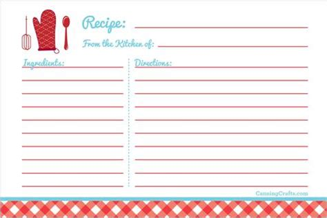 printable canning inventory chart recipe cards