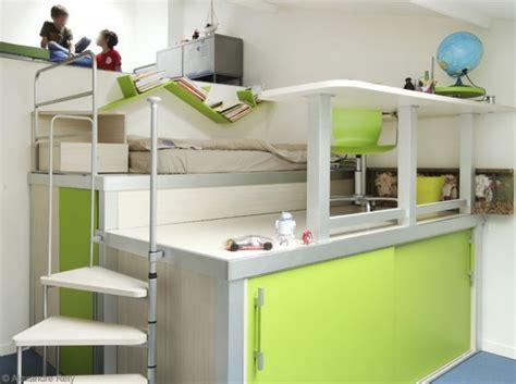 deco chambre mezzanine décoration chambre avec lit mezzanine
