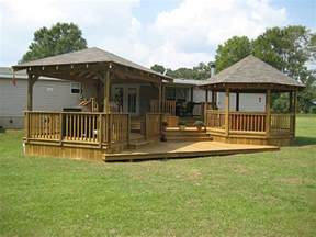genius porch designs for mobile homes lots of ideas for porches and decking for trailers rv