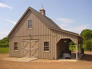 abc fence company custom barns With 24x24 horse barn
