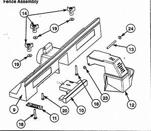 Parts For Craftsman Router Table