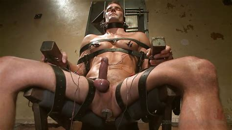 Cameron Kincade In Tied On The Chair And Plug In Hd From Kink Men Minutes Of Torment
