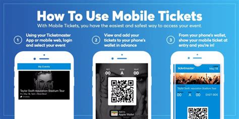 How To Use Mobile by Ticketmaster Help Mobile Tickets