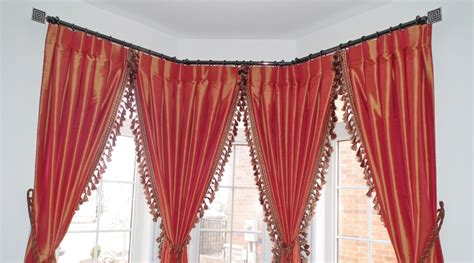 Drapery Hardware For Bay Window by Bay Window Curtain Rods Beautiful Curtain Rods For Bay