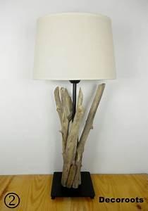 Lampe Chevet Bois Flotté : lampe en bois flott d coration ethnique nature et zen objet d coratif ethnique nature et zen ~ Melissatoandfro.com Idées de Décoration