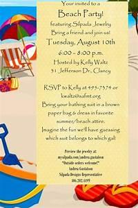 party invitations beach party invitations beach party With party city beach wedding invitations