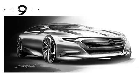 citroen numero  concept design sketch car body design