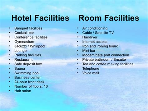 list of amenities top 5 best things about living the hotel lifestyle