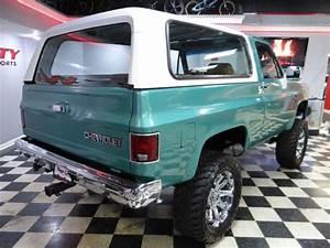 Chevy K5 Full Size Blazer 4x4 5 7 350 V8 Rare 3