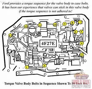 Ford 4f27e Valve Body 1999