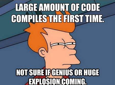 Programming Memes - 3 common programming errors technotif