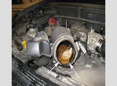 oil in air intake duct Ricks Free Auto Repair Advice