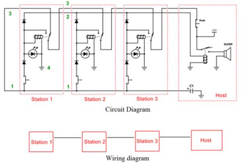 Show Wiring Diagram by Quiz Show Buzzer 187 Cee Z
