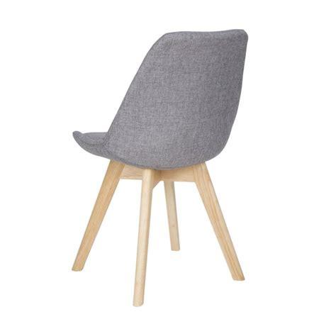 sedia sala da pranzo sedia moderna per sala da pranzo o zona living in tessuto