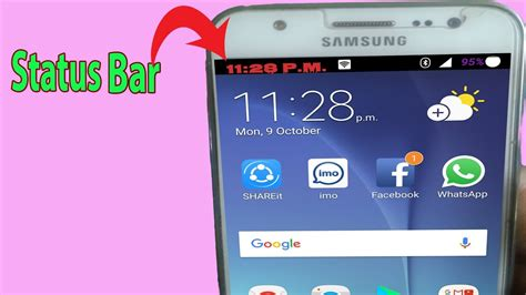 android status bar color android status bar how to customize the status bar on