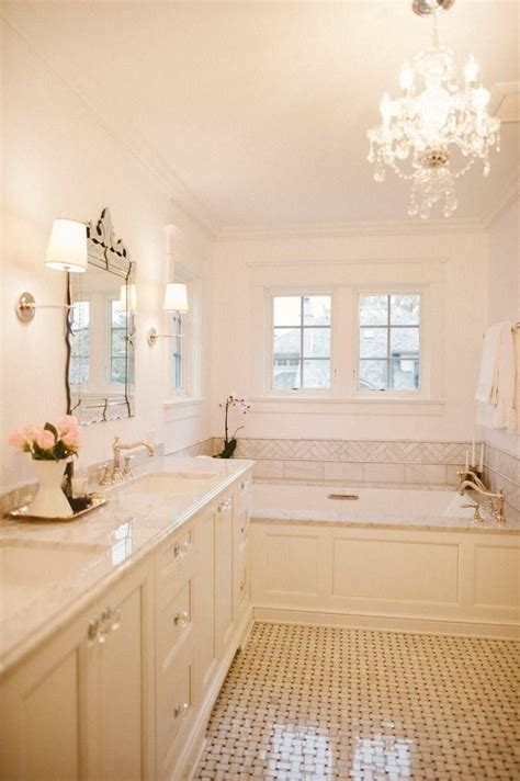 classic chic home  chicago   master bathrooms