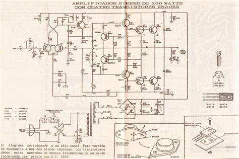 solucionado solicito informacio con lificador con 4 2n3055 reparaci 243 n de audio