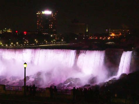 niagara falls just got a 163 3 million upgrade with 1 400 led