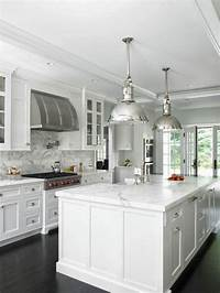 pictures of white kitchens The Zhush: Seven Inspiring White Kitchens