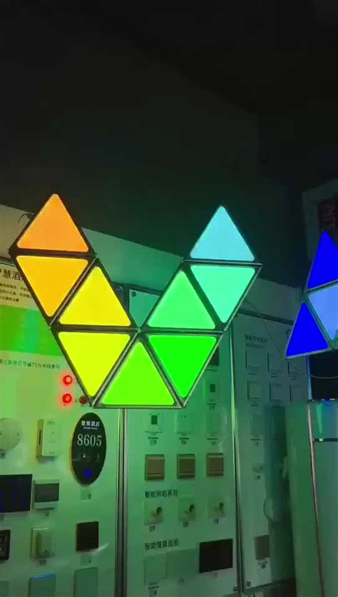 Rgb wall panels rgb led wall panel shenzhen verypixel optoelectronics co ltd does the 3d wall panels look better with the rgb lights on or off click through to browse more Rgb Led Light Triangle Panel Lights For Wall - Buy Rgb Led Light,Triangle Panel Lights,Wall ...