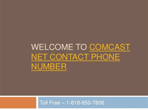 what is comcast phone number comcast net contact phone number 1818 850 7806