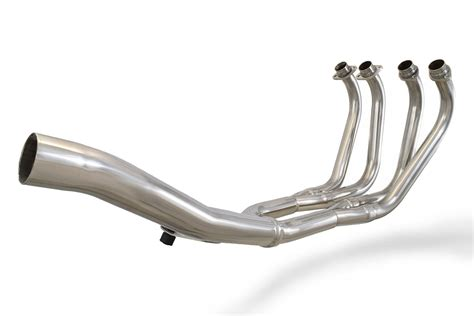 xj900 s diversion 4 1 exhaust downpipes collector only