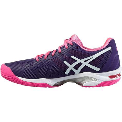 Asics Gel-Solution Speed 3 Ladies Tennis Shoes AW16 ...