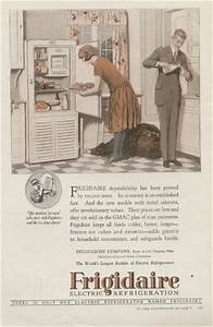 Frigidaire Electric Refrigeration 1926 Vintage